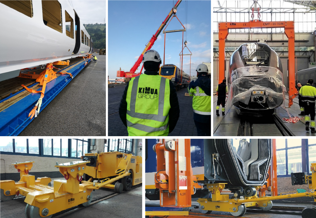 transporting large components